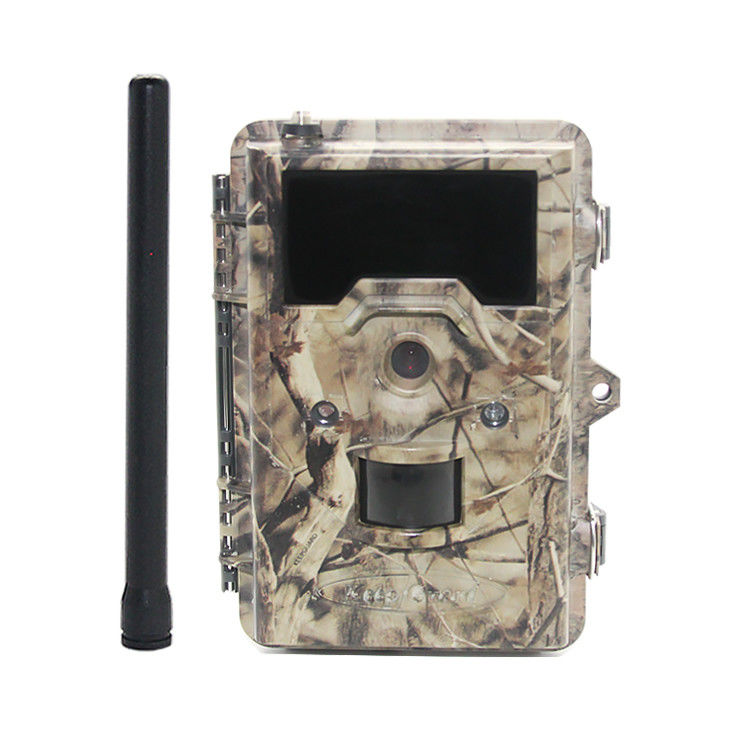3G Wireless Garden Wildlife Camera , Motion Sensor Wildlife Video Camera